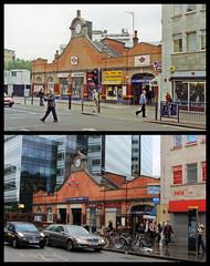 Hammersmith station (Tetramesh) Tags: tetramesh london england britain greatbritain gb unitedkingdom uk localhistory nowandthen thenandnow pastandpresent oldlondon lostlondon presentandpast londonpastandpresent londonnowandthen londonthenandnow londonpast socialhistory uklocalhistory londonlocalhistory transporthistory londonstransportpastandpresent londonstransportnowandthen londonstransportthenandnow londonunderground tfl londontransport tube thetube metro hammersmithstation hammersmith beadonroad beadonroadnt w6 w67aa hammersmithcityline circleline metropolitanline 1stdecember 13thjune benbrooksbank inchmole