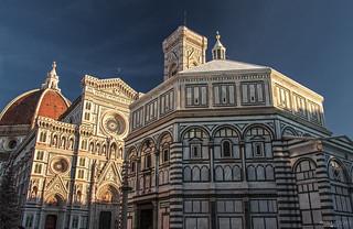 Battistero di San Giovanni Battista e Cattedrale di Santa Maria del Fiore - Firenze (Italy)