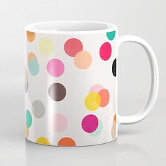 Photo (Society6 Curated) Tags: patterns colors mugs allover kitchen pink color red abstract abstraction homedecor yellow buyart coffee shopping decor apartmenttherapy apartment shop society6 abstractartist dots abstractpattern green mug purple pattern abstractart
