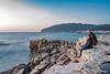 Noi due, Stoja (NRG SHOT) Tags: pula pola croazia croatia hrvatska istria istra adriatico adriatic stoja sunset scogli nrgshot nikon d600 roccia oceano mare cielo acqua tramonto baia paesaggio spiaggia