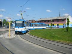 Ostrava tram No. 1119 (johnzebedee) Tags: tram transport publictransport vehicle ostrava czechrepublic johnzebedee tatra tatrat6