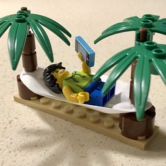 11/365: Some days I just want to be this guy lounging in a hammock between two palm trees while doing things on my phone. Wait, I can probably make this happen.