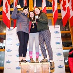 Western Ski Cross finals at Big White - U18 Women - Overall  Points Podium PHOTO CREDIT: Todd Cashin