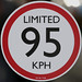 LIMITED 95 KPH