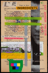 107-CVII (fanclub13) Tags: rjfc collage collageart trashart rayjohnsonfanclub bookart streetart destijl recycling trashcollage bookpages