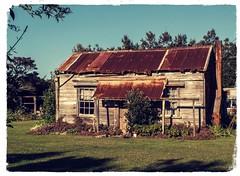 This ole house... (jimjiraffe*) Tags: house shack rusty dilapidated urenui taranaki nz fuji fujifilm xs1 jimjiraffe