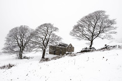 Derelict Barns (Andy Poole Images) Tags: barn farm farming hills winter snow peakdistrict