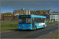 34653, Arthur Road (Jason 87030) Tags: arthurroad minnisbay birchingtononse eastkent southeast stagecoach dennis dart pilgrims hospice pilgrim skyblue clouds weather slf pointer gx54dxd park light sony ilce snap capture shot shoot image color colour wheels 34653 34 2018 february break holiday thanet