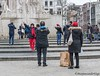 In the street (Marjon van der Vegt) Tags: amsterdam straatfotografie mensen dedam kleurrijk