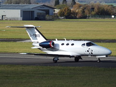 G-FBKB Cessna Citation Mustang 510 Blink Ltd (Wijet) (Aircaft @ Gloucestershire Airport By James) Tags: gloucestershire airport gfbkb cessna citation mustang 510 blink ltd wijet bizjet egbj james lloyds