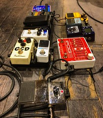 Pedal to the Metal (Pennan_Brae) Tags: guitarpedal guitarpedals recordingsession recordingstudio musicphotography guitar musicstudio recording guitarist electricguitar