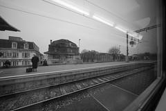 "Watching out of Train Window (Svend RS) Tags: sonyilce7m2 sonya7 alpha a7m2 1224mm40 fe1224mmf4g sel1224g zoom wideangle ultrawideangle blackandwhite monochrome noiretblanc ""artinbw"" biancoenero blancoynegro streetphotography"