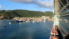 Charlotte Amalie, St. Thomas Harbor 1 (Gail Frederick) Tags: caribbean stthomas clouds harbour water