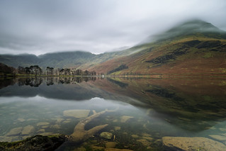 calm at buttermere
