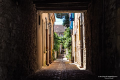 Long and narrow historical alleys - Monpazier/FR (About Pixels) Tags: 0721 10001500ac 2015 aboutpixels fr france frankrijk lpbvf latemiddeleeuwen latemiddleages lesplusbeauxvillagesdefrance mnd07 middeleeuwen monpazier nikond90 nikon nouvelleaquitaine summerseason zomerseizoen algemeen alley anno1250 appliedart appliedarts architecture architectuur art cityscape collecties historie infrastructure infrastructuur juli july kunst medieval stadsgezicht stedelijk steegje toegepastekunst urban weg history