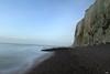 La falaise mystérieuse (Un jour en France) Tags: mer plage falaise merslesbains océan paysage ciel côte somme picardie