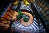 Staircase in Madrid, Spain (` Toshio ') Tags: toshio madrid spain onlyyouhotelatocha staircase stairs art architecture europe european europeanunion spanish fujixe2 xe2
