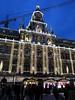 Stadhuis van Antwerpen (Stewie1980) Tags: antwerpen anvers antwerp belgië belgique belgien belgium grote markt stadhuis avond kerstmarkt kerst verlichting versiering market square christmas xmas lights decoration evening bluehour city hall facade