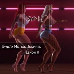 #Sync'd_Lemon II / 073 (NaraRugani) Tags: dance syncd motion inspired lemon dances hiphop gente bento perfect