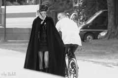 Passing by (RickB500) Tags: portrait street girl gothic man rickb rickb500