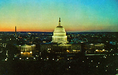 Capitol at Night (Thomas Hawk) Tags: america capitolbuilding dc districtofcolumbia uscapitol usa unitedstates unitedstatesofamerica washingtondc postcard sunset fav10 fav25