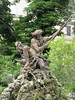 Neptune sculpture, Allées Fénelon, Cahors, France (Paul McClure DC) Tags: sculpture france occitanie occitania july2017 cahors lot quercy historic