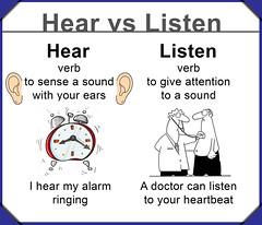 hear vs listen