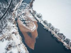 Frozen River | Nevėžis | Aerial #42/365