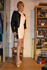 DSC_0021 (magda-liebe) Tags: anklet highheels crossdresser travesti tgirl french minidress