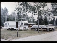 72 fury - 71 coachman - machinaw bridge 1975 (mohrhaven) Tags: 1972 plymouth fury station wagon 1971 coachmen continential