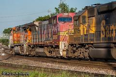 BNSF 555 | GE B40-8W | BNSF Thayer South Subdivision (M.J. Scanlon) Tags: atsf atsf4015 atchisontopekasantafe bnsf174 bnsf4060 bnsf555 bnsf8715 bnsfrailway bnsfthayersouthsub burlingtonnorthernsantafe business c449w canon capture cargo commerce digital emd eos engine freight ge gp60 geep haul horsepower locomotive logistics mjscanlon mjscanlonphotography memphis merchandise mojo move mover moving outdoor outdoors photo photograph photographer photography picture rail railfan railfanning railroad railway santafe scanlon sky steelwheels super tennessee track train trains transport transportation tree wow atsf555 b408w