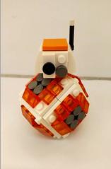 BB8 V3 (Cap's Creations) Tags: lego moc star wars force awakens bb8 droid