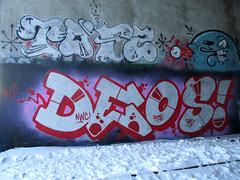 Winter in Hatanpää (Thomas_Chrome) Tags: graffiti streetart street art spray can wall walls fame gallery hof hatanpää tampere suomi finland europe nordic winter chrome