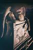 Day After Tomorrow (Thomas Hawk) Tags: america bayarea california colma cypresslawn cypresslawncemetery cypresslawnmemorialpark southbay usa unitedstates unitedstatesofamerica westcoast angel cemetery night sculpture fav10 fav25 fav50