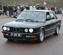 A BMW 5 series (E28) M5 (1985-87), sport variant of the 535i, Vincennes, 2018-01-07 (alaindurandpatrick) Tags: bmw bayerischemotorenwerke e28 5series m5 bmw5seriese28m5 bmwe28 cars veterancars germancars germanveterancars classicmotorshows traverséedeparis vincennesenanciennes vincennes 94 iledefrance valdemarne greaterparisarea france