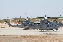 UH-1Y 168502 TV80 HMLA-167 & 168416 HF42 HMLA-269 (spbullimore) Tags: huey uh1 uh1y 168502 tv80 hmla167 168416 hf42 hmla269 mcas yuma az usa us marine corps 2015