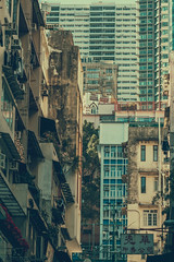 Concrete Jungle (JWB Creative Life) Tags: over populated high rise old new buildings flats hong kong peaks island dense compact