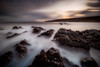Calmed by Time (Augmented Reality Images (Getty Contributor)) Tags: longexposure storm coastline sunrise leefilters landscape scotland water waves clouds morayfirth canon findochty seascape rocks unitedkingdom gb