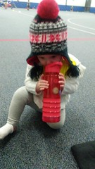 """Dani Drinks from Paul's Water Bottle at Basketball Practice • <a style=""""font-size:0.8em;"""" href=""""http://www.flickr.com/photos/109120354@N07/38849372610/"""" target=""""_blank"""">View on Flickr</a>"""