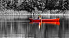 Determination 2 !! (Bob's Digital Eye) Tags: 2017 boat boatsonlake bobsdigitaleye canoe canon canonefs55250mmf456isstm flicker flickr h2o lake selectivecolour summer t3i water