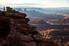 Dead Horse Point (V.Duplain) Tags: dead horse point state park canyon utah red rocks man standing canon 6d 2470 f28