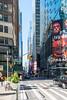 Times Square (MikePScott) Tags: 6thavenue architecturalfeatures avenueoftheamericas banner billboard broadway buildings builtenvironment camera featureslandmarks flag logo newyork newyorkcity nikon28300mmf3556 nikond800 sign sky skyscraper timessquare usa unitedstatesofamerica