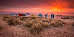 Southwold Beach Huts, Suffolk (Albert's Photo's) Tags: huts beach shaw graham sunrise canon 5d mk3 mkiii lee