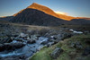 Sunset Stream (NCExplore) Tags: mountain sunset light wales snowdonia stream water rocks stones cold hiking devils kitchen snowdon