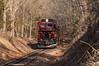 Aquetong Tree Tunnel (Dan A. Davis) Tags: newhopeivyland newhopeandivylandrailroad nhi newhope buckscounty pa pennsylvania railroad passengertrain locomotive gp30