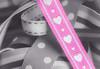 Ribbons (Daniela 59) Tags: 7dwf crazytuesdaytheme prettyinpink ribbon heart pattern texture macro selectivecolour danielaruppel