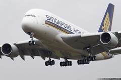 Singapore Airlines Airbus A380-841 cn 247 F-WJKG // 9V-SKV (Clément Alloing - CAphotography) Tags: singapore airlines airbus a380841 cn 247 fwjkg 9vskv toulouse airport aeroport airplane aircraft flight test canon 100400 spotting tls lfbo aeropuerto blagnac airways aeroplane engine sky ground take off landing 1d mark iv