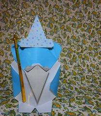 Nounours l'Enchanteur / Teddy the Wizard de Viviane Berty et Francesco Mancini 2018 (Viviane des Papiers) Tags: vivianeberty origami francescomancini enchanteur wizard