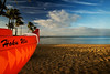 Hawaii888 (Shannon Cayze) Tags: beach canoe canon430exii canon580exii canonefs1022mmf3545usm canonrebelxti hawaii kahala oahu ocean radiopopper sand shannoncayze strobist water