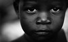 The Child as a Thinker (gunnisal) Tags: africa portrait face child kid eyes bw blackandwhite monochrome gunnisal grouptripod
